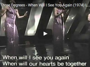 The Three Degrees – When Will I See You Again (1974) Live